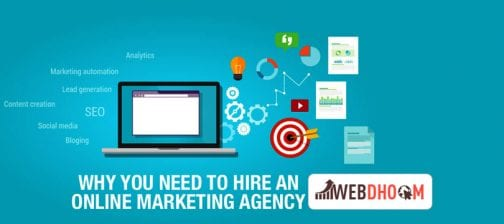 reasons for hiring an online marketing agency